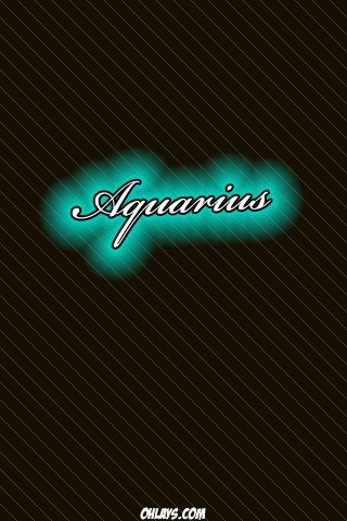 Aquarius iPhone Wallpaper