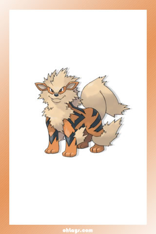 Arcanine iPhone Wallpaper