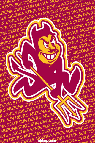 Arizona State Sun Devils iPhone Wallpaper