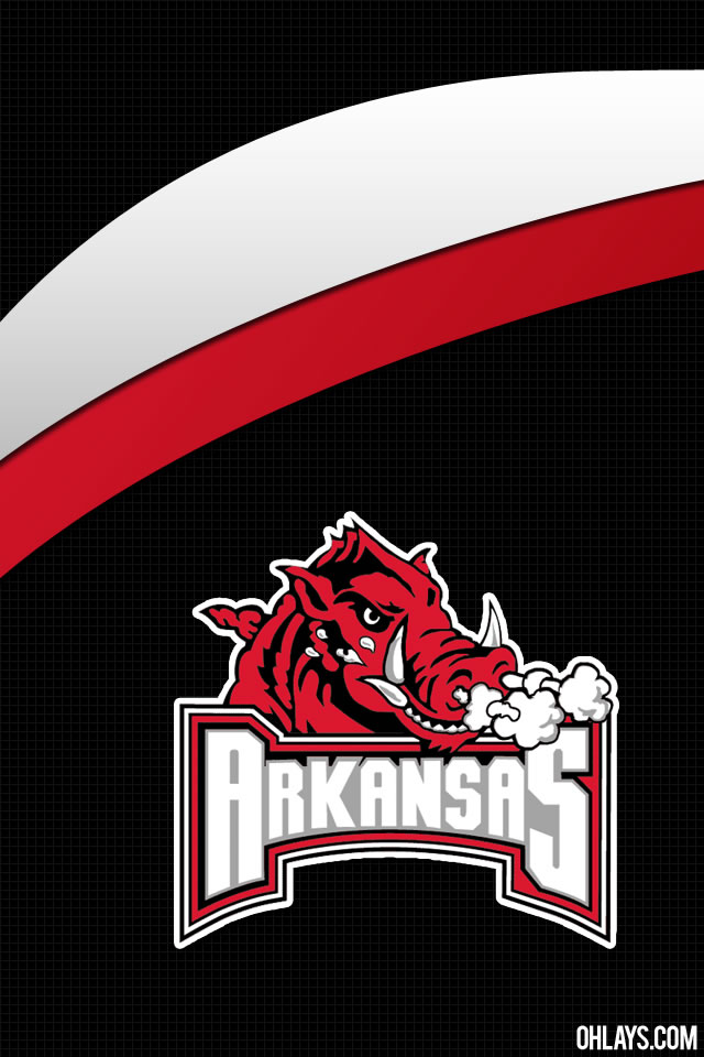 Arkansas Razorbacks iPhone Wallpaper