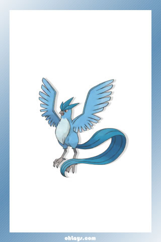 Articuno iPhone Wallpaper