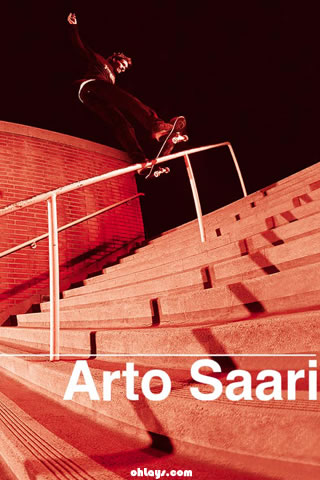 Arto Saari iPhone Wallpaper