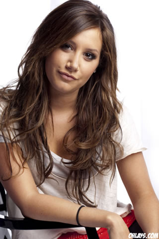 Ashley Tisdale iPhone Wallpaper