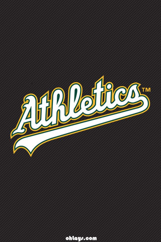 Oakland Athletics iPhone Wallpaper