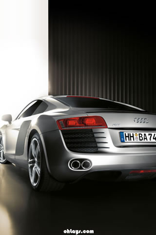 audi r8 wallpaper. Audi R8 iPhone Wallpaper