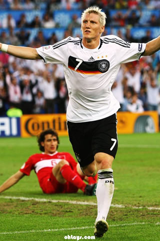 Bastian Schweinsteiger iPhone Wallpaper