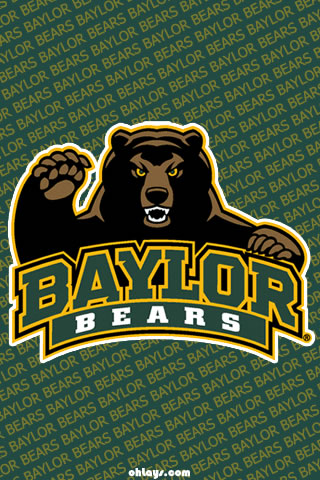 Baylor Bears iPhone Wallpaper