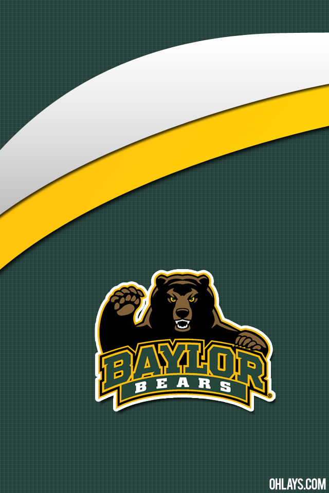 Baylor Bears iPhone Wallpaper