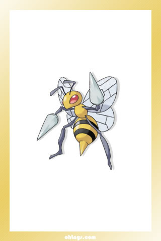 Beedrill iPhone Wallpaper