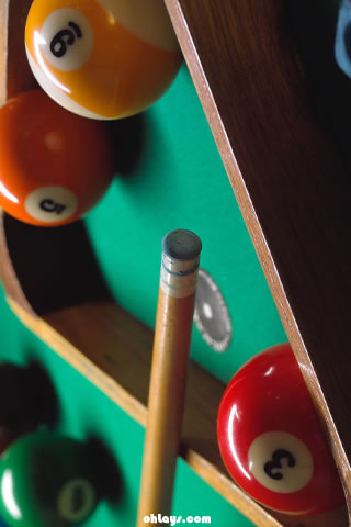 Billiards iPhone Wallpaper