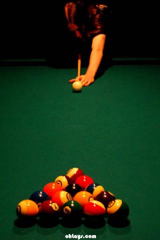 Billiards iPhone Wallpaper