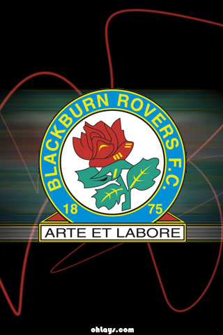 Blackburn Rovers iPhone Wallpaper