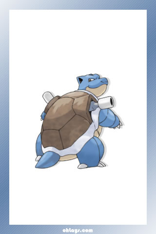 Blastoise iPhone Wallpaper