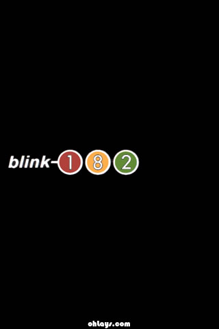 Blink 182 iPhone Wallpaper