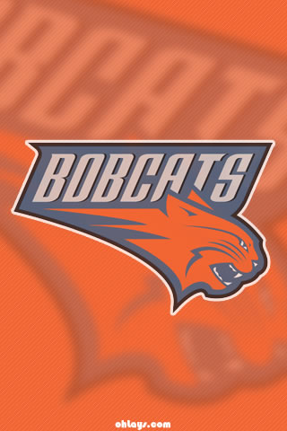 Charlotte Bobcats iPhone Wallpaper