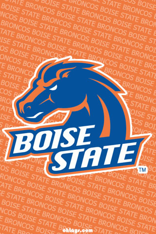 Boise State Broncos iPhone Wallpaper