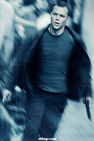 Jason Bourne iPhone Wallpaper