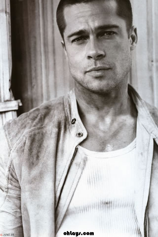 Brad Pitt iPhone Wallpaper