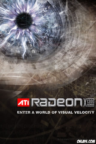 Radeon iPhone Wallpaper