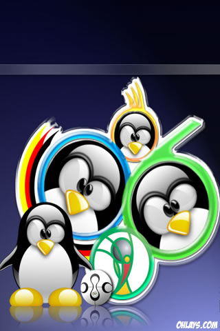 Linux iPhone Wallpaper
