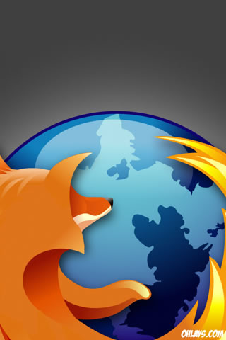 Firefox iPhone Wallpaper