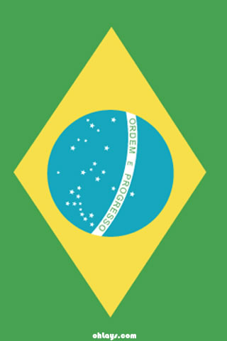 Brazil iPhone Wallpaper  793  ohLays