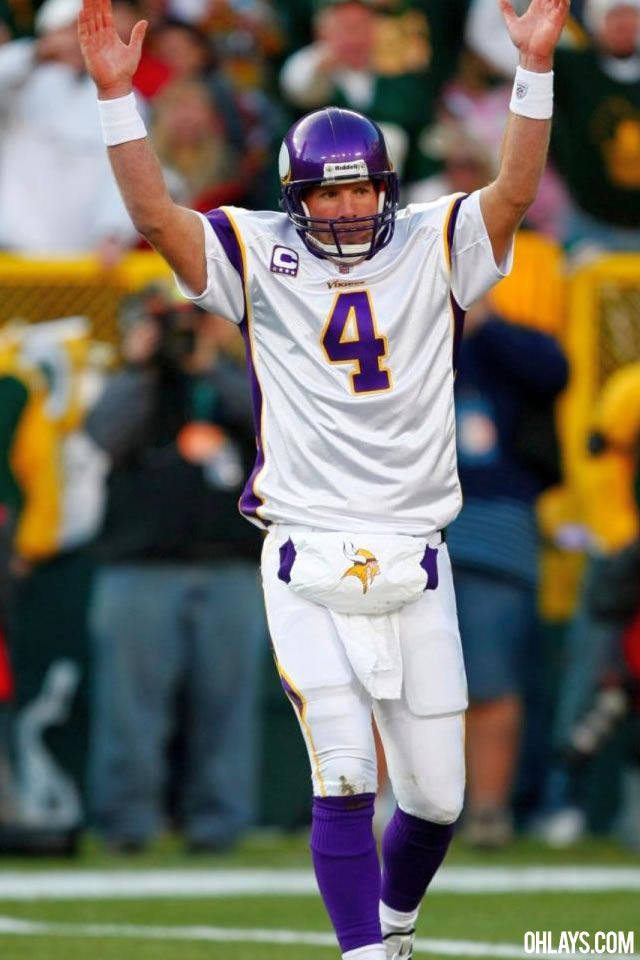 Brett Favre iPhone Wallpaper