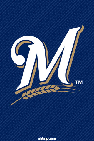 Milwaukee Brewers iPhone Wallpaper