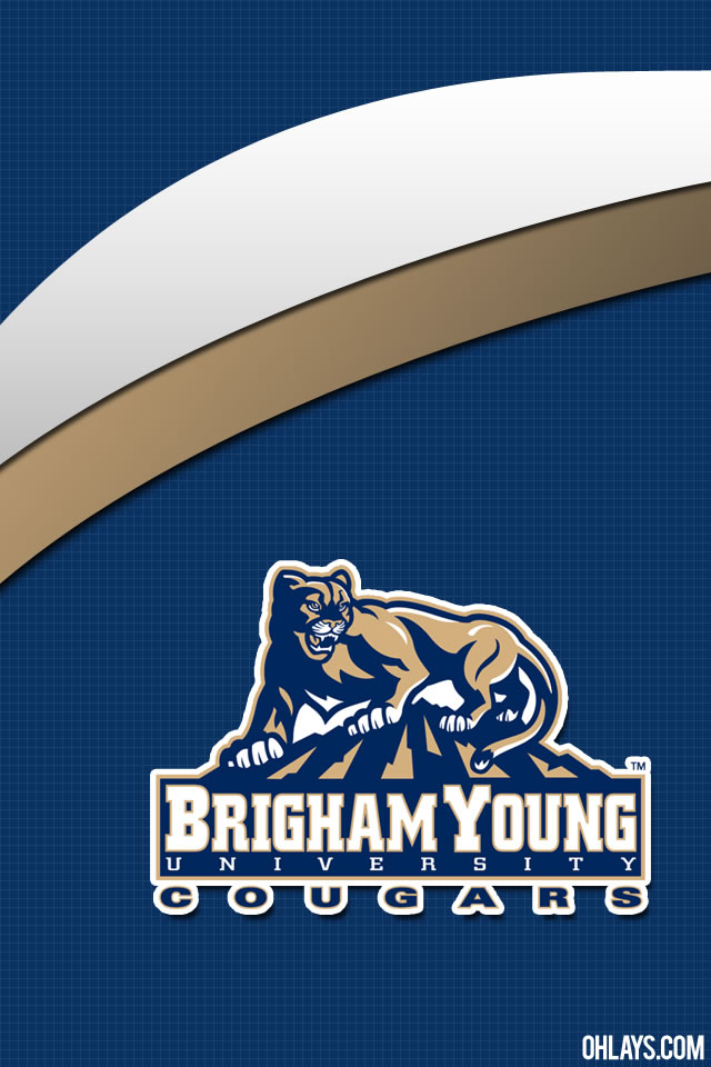 Brigham Young Cougars iPhone Wallpaper