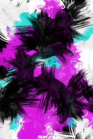 Brushes iPhone Wallpaper