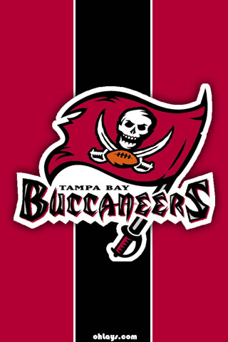 Tampa Bay Buccaneers iPhone Wallpaper