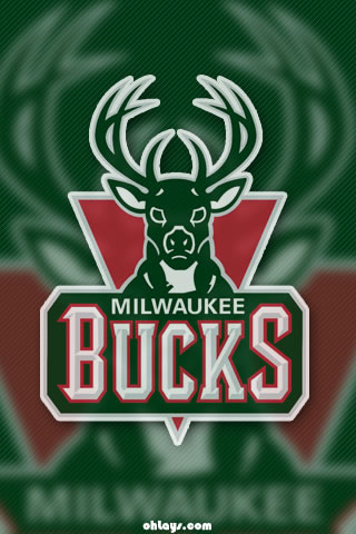 Milwaukee Bucks iPhone Wallpaper