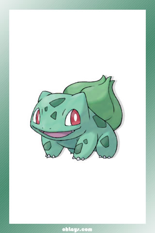 Bulbasaur iPhone Wallpaper