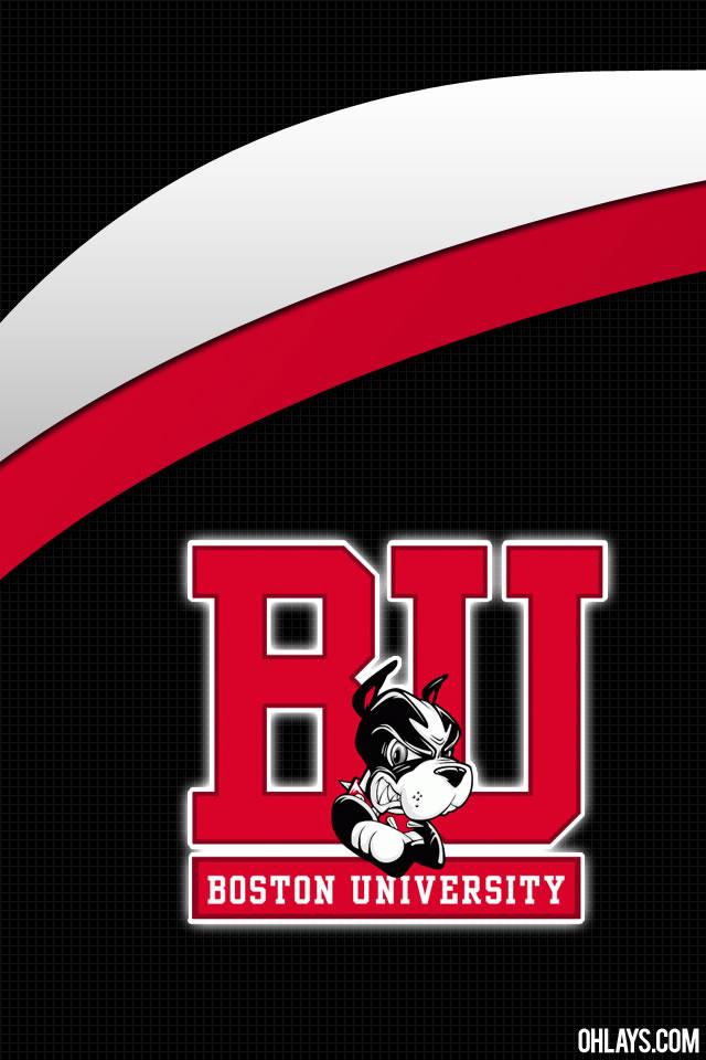 BU Terriers iPhone Wallpaper
