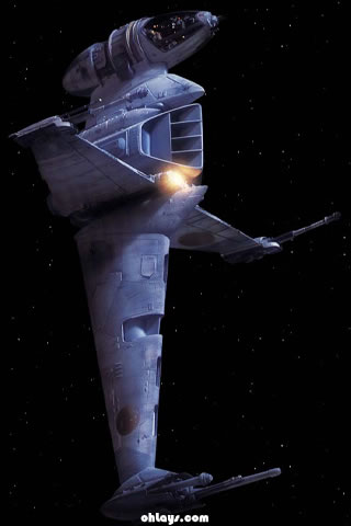 B-wing iPhone Wallpaper