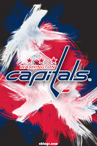 Washington Capitals iPhone Wallpaper