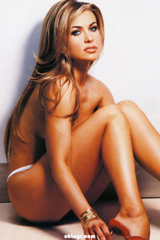 Carmen Electra iPhone Wallpaper