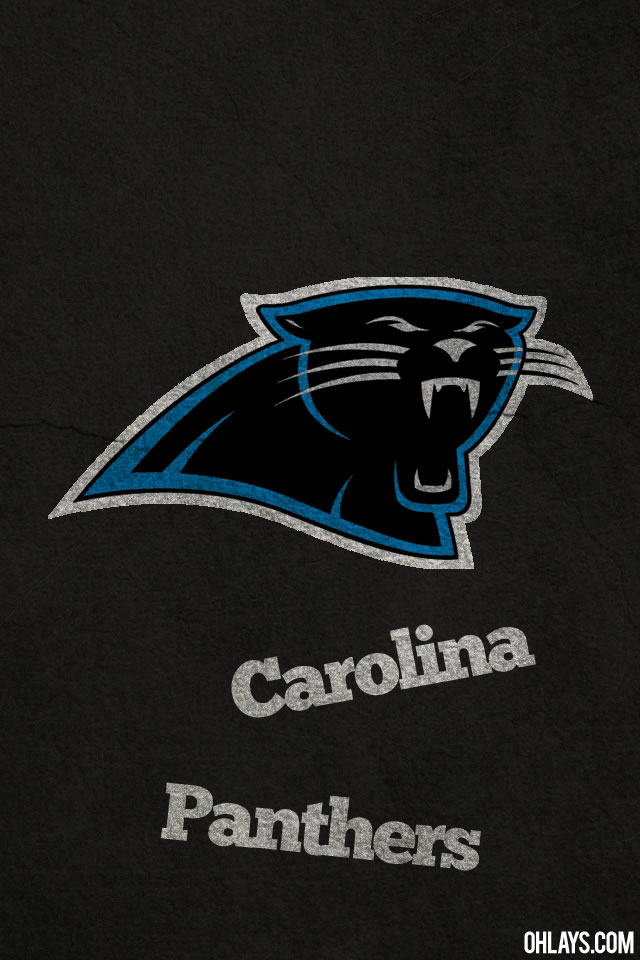 Carolina Panthers iPhone Wallpaper