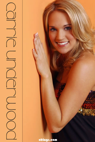 Carrie Underwood iPhone Wallpaper