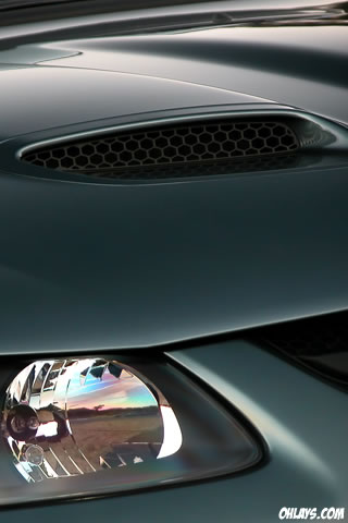 Car Hood iPhone Wallpaper