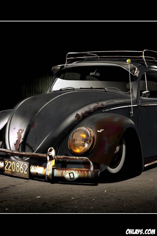 VW Beetle iPhone Wallpaper