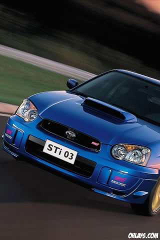 Subaru Sti Iphone Wallpaper 3989 Ohlays