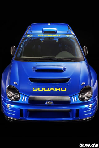 Subaru iPhone Wallpaper