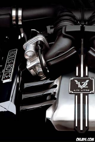 Rolls Royce iPhone Wallpaper