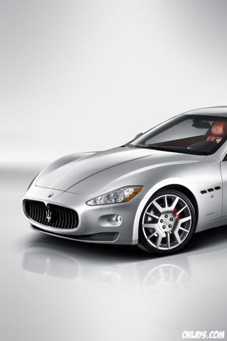 Maserati iPhone Wallpaper
