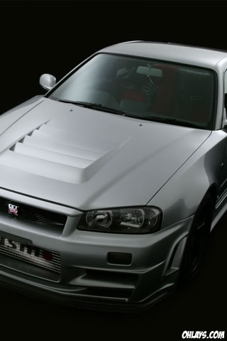 Nissan GTR iPhone Wallpaper