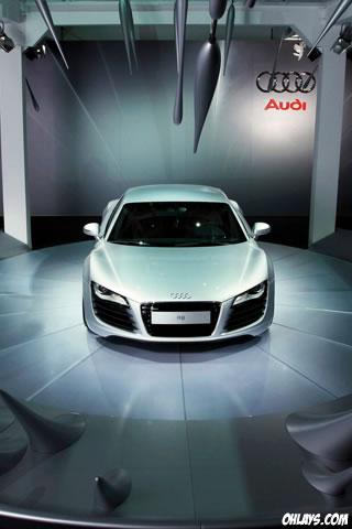 Audi R8 iPhone Wallpaper