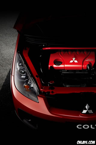 Mitsubishi iPhone Wallpaper