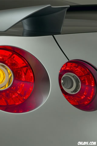 Taillights iPhone Wallpaper