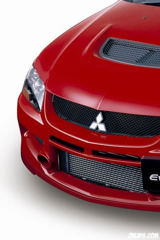 Mitsubishi Evo iPhone Wallpaper